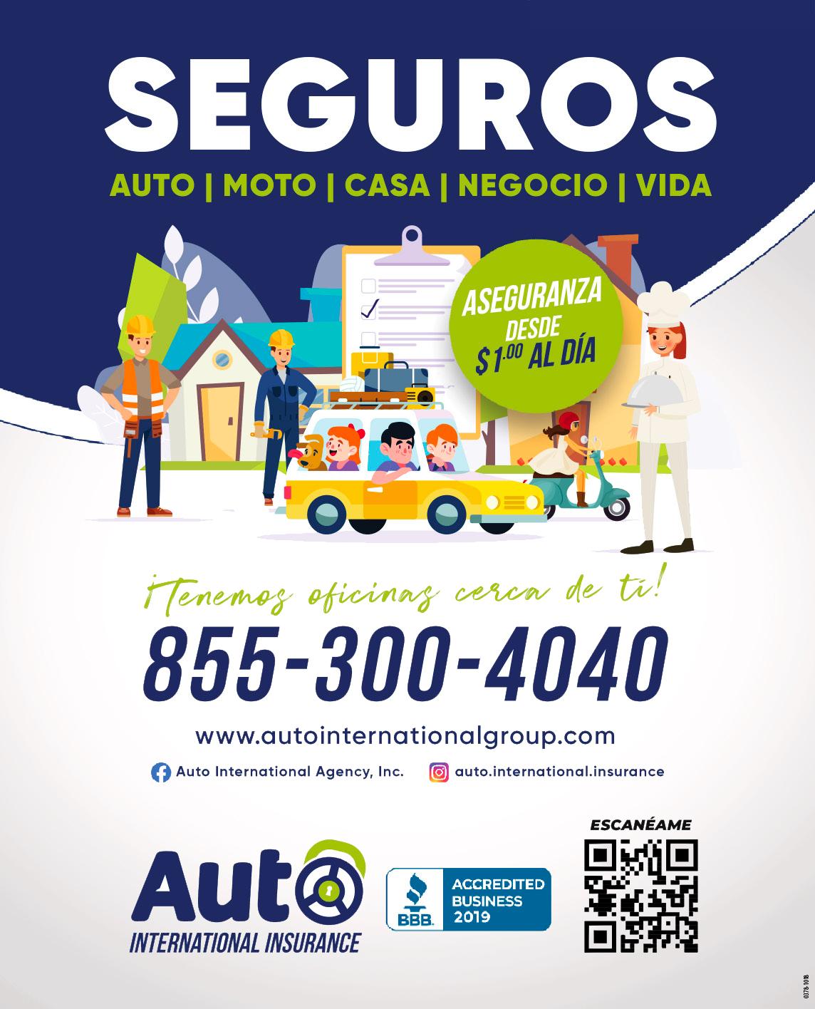 auto internaitonal insurance magazine ad